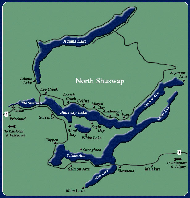 Shuswap Lake map3